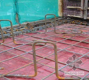 工字钢悬挑式扣件钢管脚手架施工工法