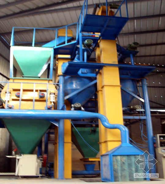 外保温干混浆料、柔性腻子粉配方设计及生产设备、原料选用