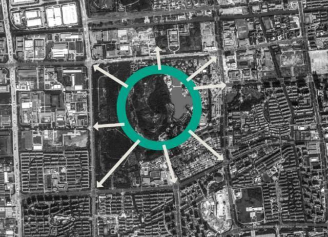 """最牛公园方案:""""清明上河图""""融于现代城市_6"""