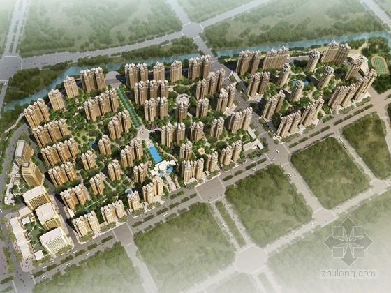 [广东]现代风格高层宜居住宅区规划设计方案文本