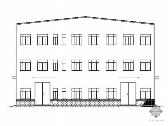 [浙江温州市]某三层工业厂房建筑设计施工套图