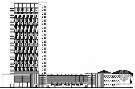 [永城]某二十三层大酒店建筑设计施工图