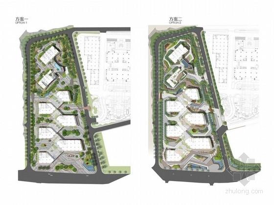 [广东]高新技术产业园景观概念设计(知名设计机构作品)