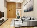 [北京]LOFT复式住宅室内设计施工图(效果图+物料表)