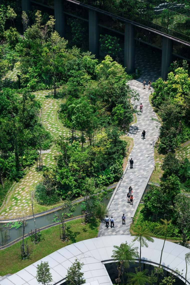 新加坡Comtech商业园区景观-14