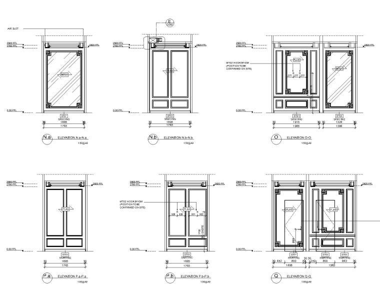 [深圳]邱德光|前海壹方中心现代中式风格住宅设计施工图+物料书+效果图_6