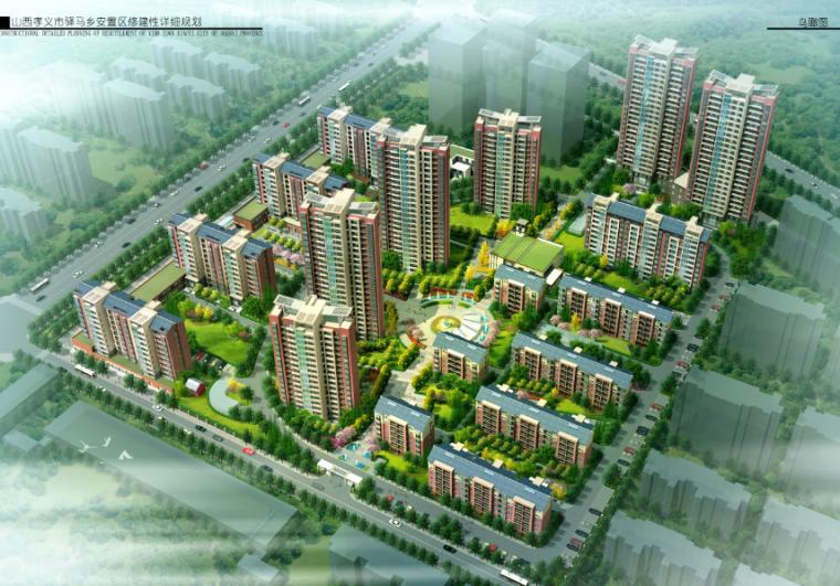 [山西]孝义市驿马乡安置居住区修建性详细规划设计方案文本