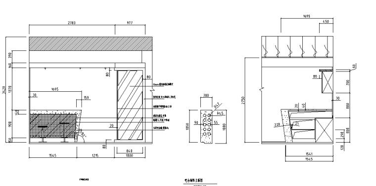 [江苏]二层现代风格高档别墅施工图及实景图