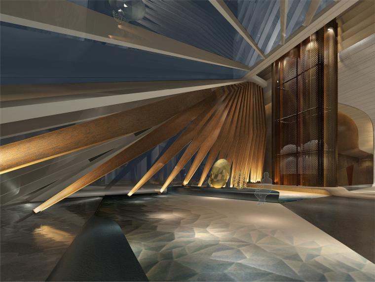 LTW-西安君悦酒店效果图+深化设计方案+CAD平面