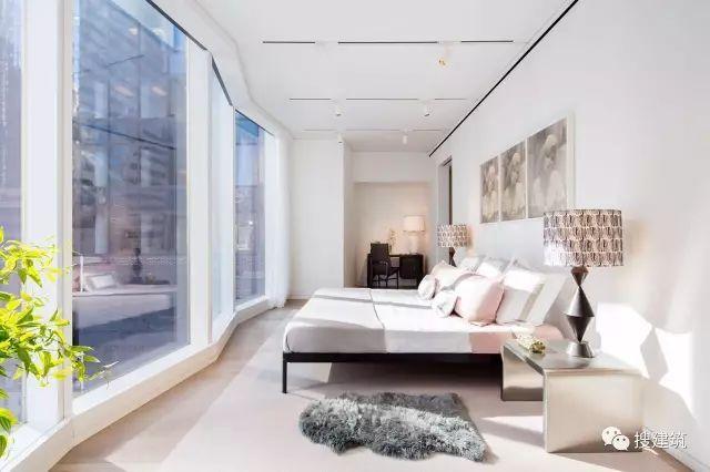 """万科在纽约开发的""""新地标住宅"""",高200米,1000-1600平方英尺的_16"""