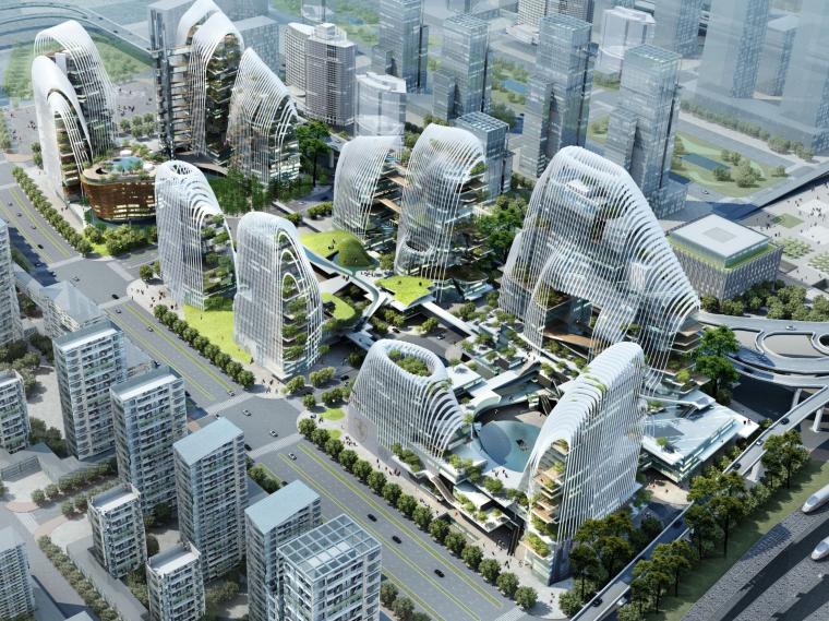 [江苏]南京南站城市综合体设计方案文本/MAD(156页PDF)