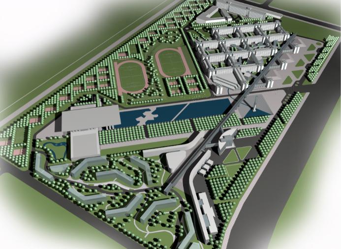 [辽宁]沈阳市政与环境工程学院新校区建设工程方案文本(CAD+PSD+JPG)