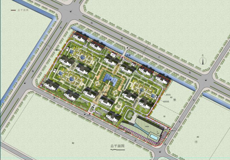 [江苏]33层住宅及多种社区商业及配套服务功能一体化商业综合体_7