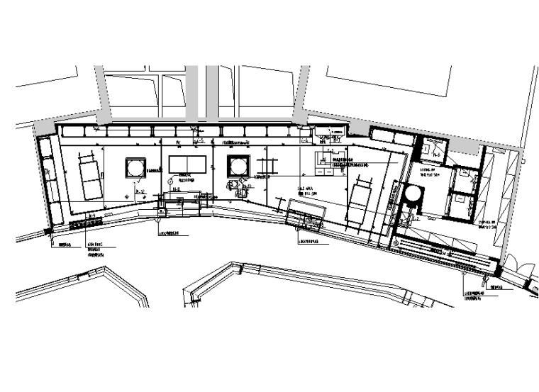 上海店铺室内电气设计图(cad+pdf)图片