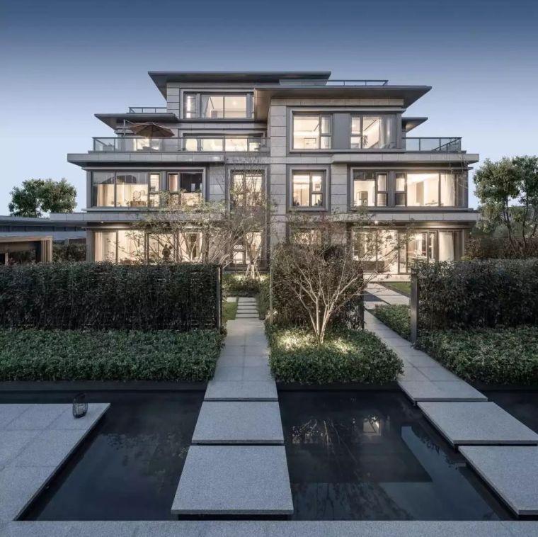 高端别墅样板房,静谧悠然的简约设计