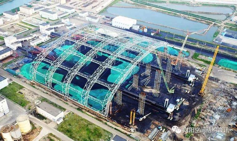 国内水平滑移跨度最大的钢结构