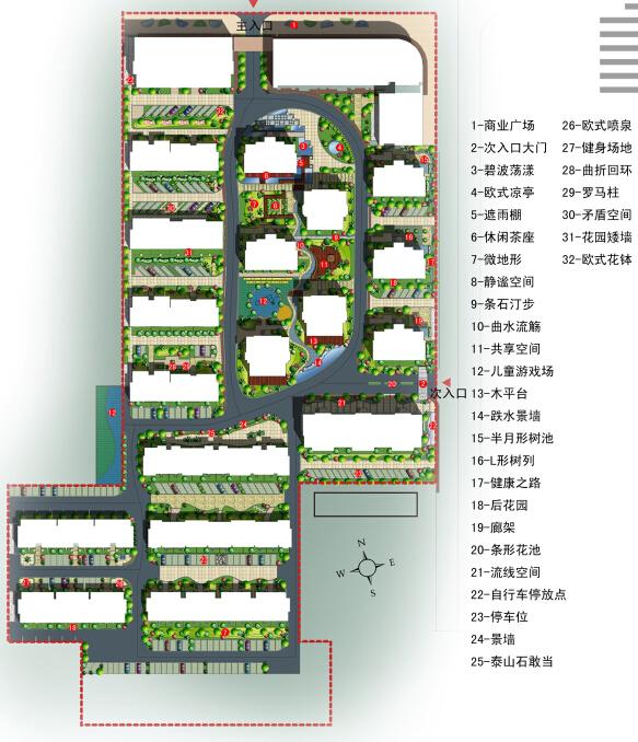 [河南]濮阳未来花园景观设计方案