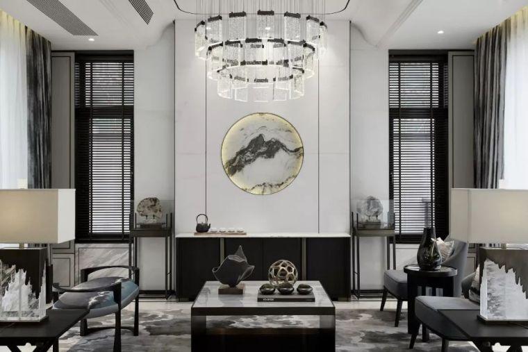 质朴材质也能构建空间气质,顶级别墅样板间设计_3