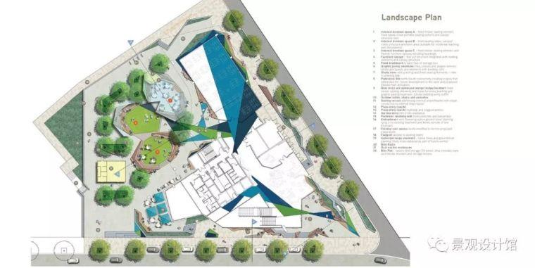 科廷大学创新大街,医学院入门庭院景观设计
