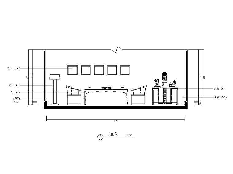 【福建】建欧现代风格别墅设计CAD施工图(含效果图)_3