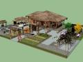 农家院模型