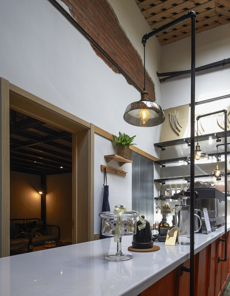北京北海百年糖房改造-113-咖啡操作区