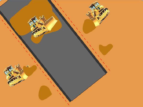 公路施工动画演示45个swf(土石方开挖,沥青拌合,排水降水复打桩)