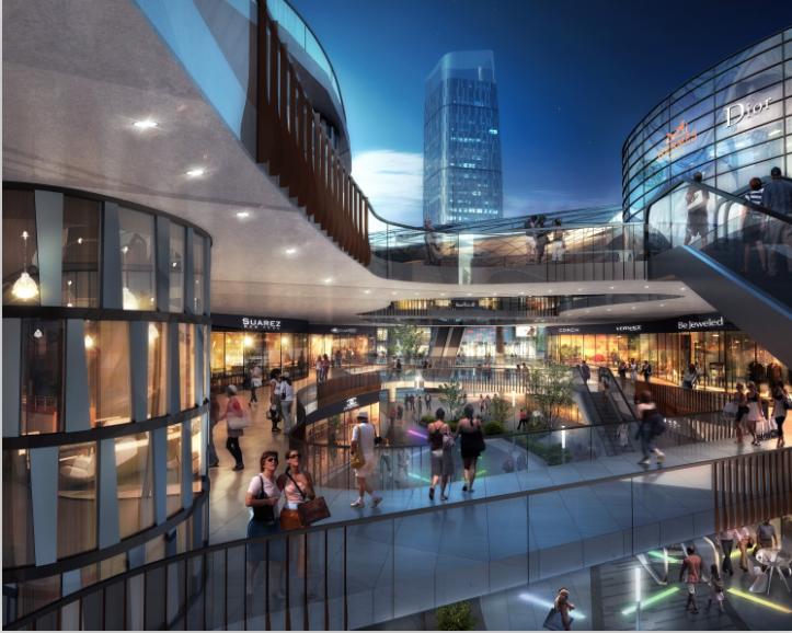 [湖北]超高层娱乐百货商业中心建筑设计方案文本(含CAD)_5