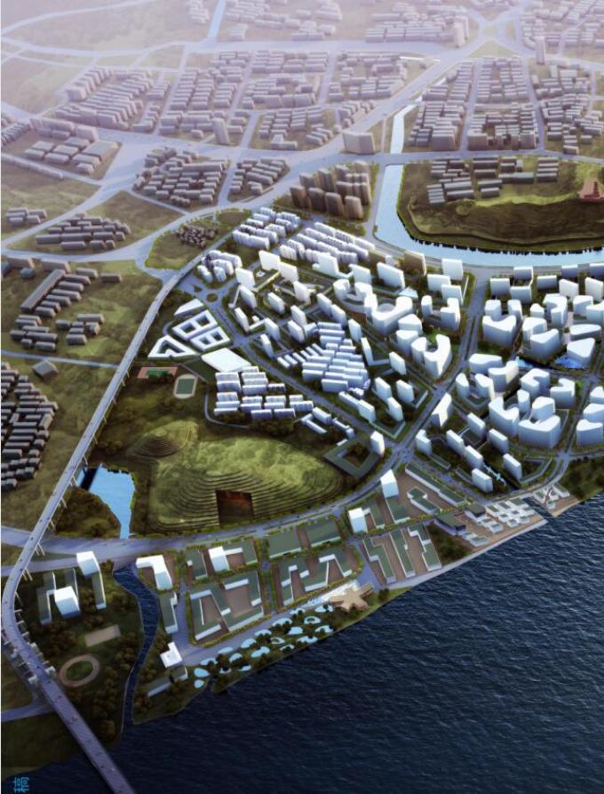 [江苏]滨江项目城市设计概念方案国际征集作品_3