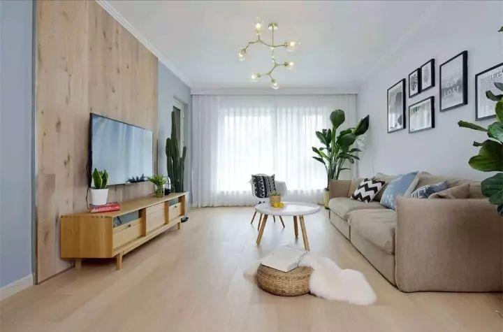 这些客厅装修很简单,却都美爆了!
