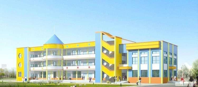 三层砖混-框架结构幼儿园工程计算实例(含建筑结构图纸和工程量清单)