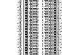 [安徽]超高层10栋住宅建筑施工图(含水暖电全专业图纸)