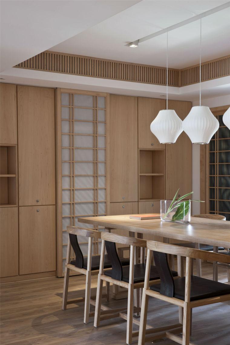 简单自然的中式风格住宅室内实景图 (8)