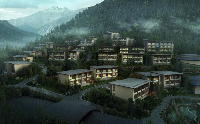 [四川]希尔顿酒店景观方案规划设计