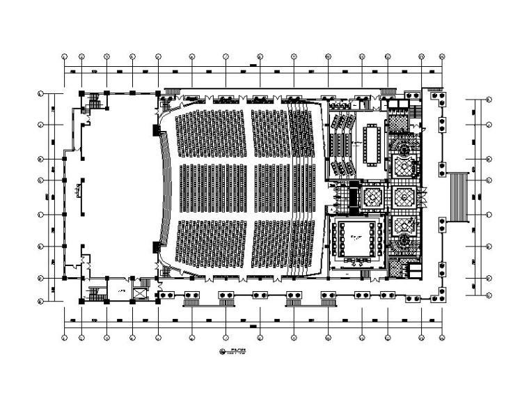 全套国际会议展览中心大厦设计施工图