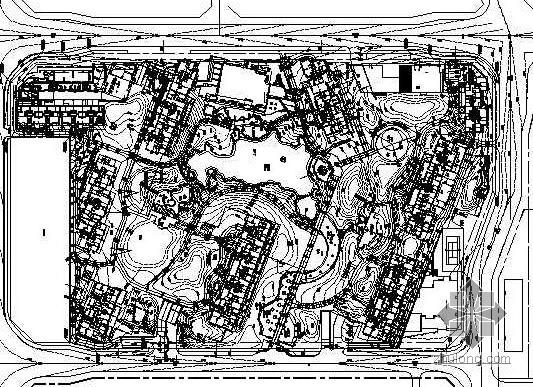 [北京]小区北区环境景观施工图设计