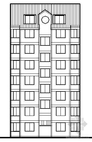遵义市外环路沙河区修建性规划住宅楼方案图7