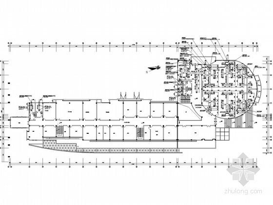 [四川]知名院校暖通空调设计施工图(水环热泵 空气源热泵 流程图多)