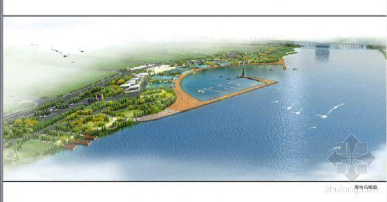 顺德河道北岸湖区方案及施工图设计