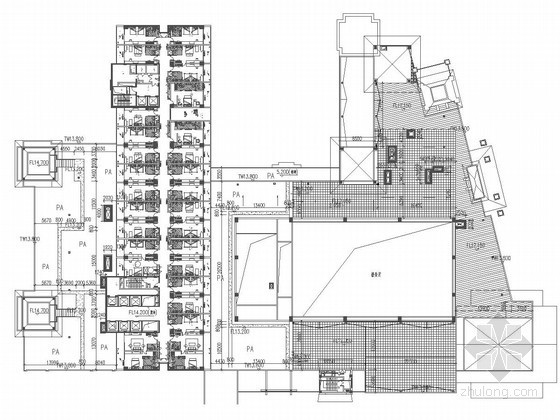 屋顶花园景观施工图(含11个CAD文件)