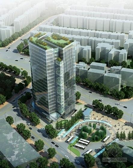 [秦皇岛]现代风格办公楼建筑设计方案文本