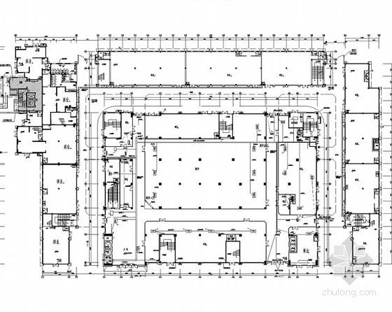[江西]知名影城商业住宅综合建筑群电气全套施工图188张(大院精品)