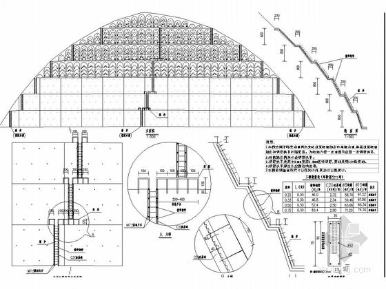 路堑高边坡防护加固工程施工图设计(深挖路堑)