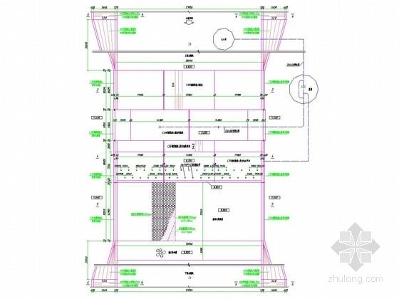 [山东]38米橡胶坝施工图