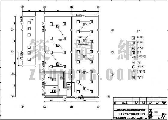变配电房七氟丙烷气体设计图