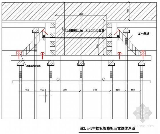 北京地铁车站主体明挖结构模板施工方案