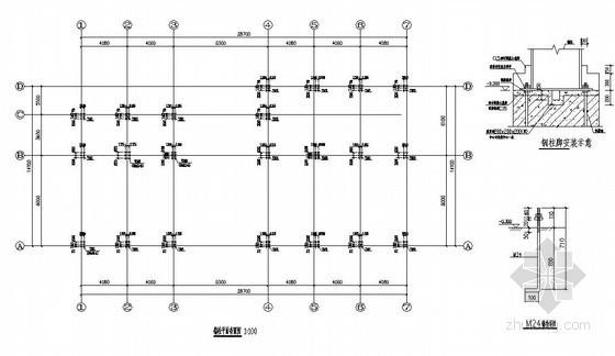 某钢结构展厅结构设计图