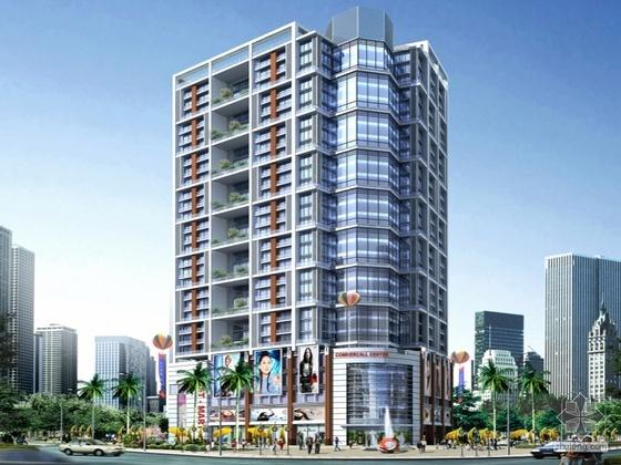 [惠州]某五星大厦建筑方案设计文本