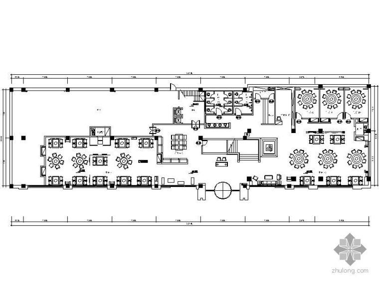 [唐山]某大饭店餐厅装修图