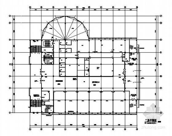 中学体育馆多联机空调工程设计施工图